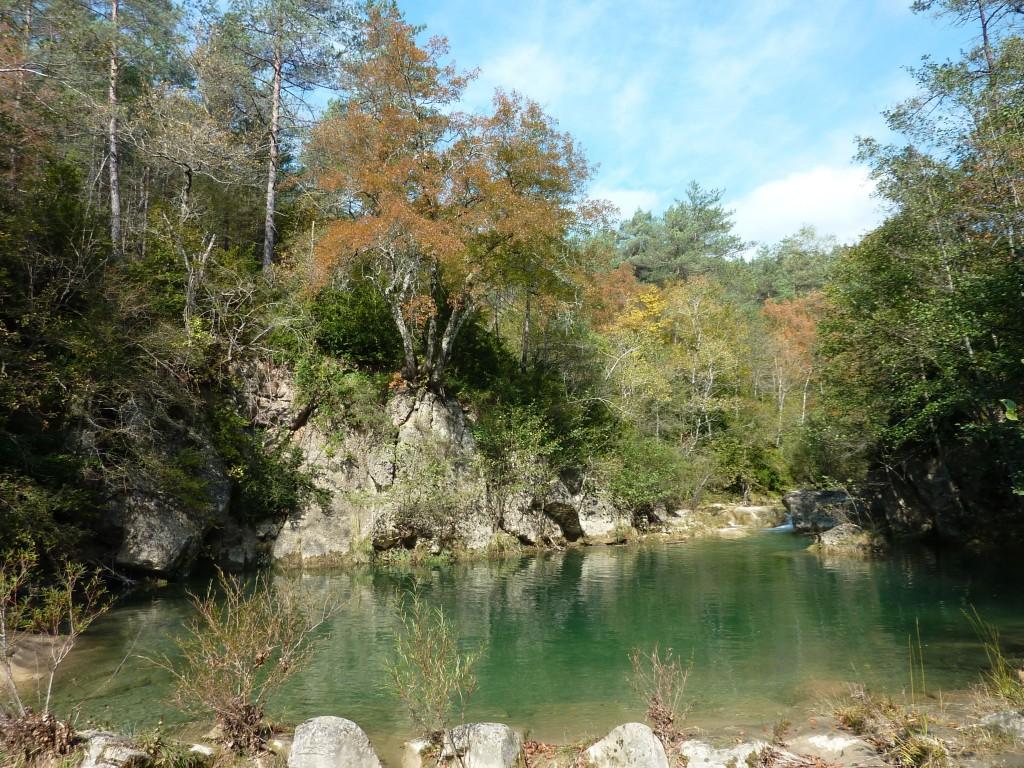 Zwemplek rivier