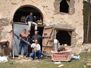 Het installatie team